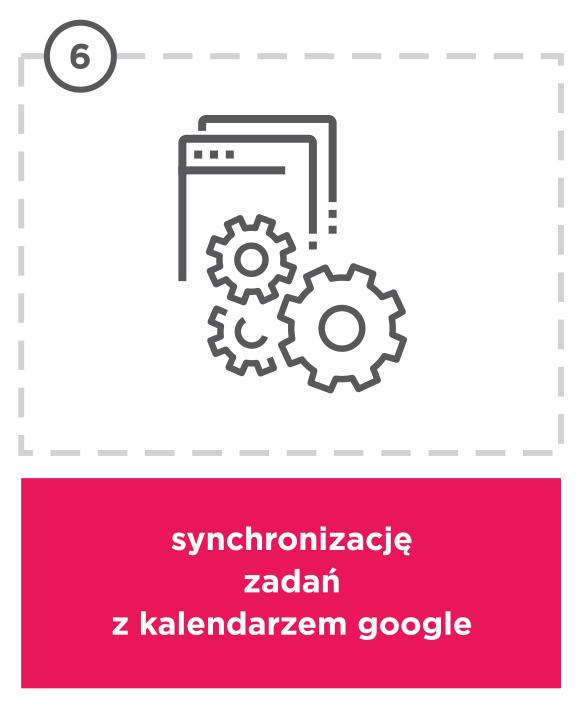 Korzyści enova365 - Synchronizacja zadań z kalendarzem Google
